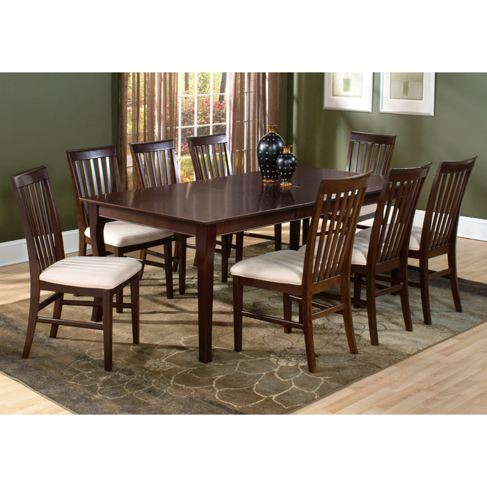Shaker 78 x 42 dining table w butterfly leaf extension for 42 dining table with leaf