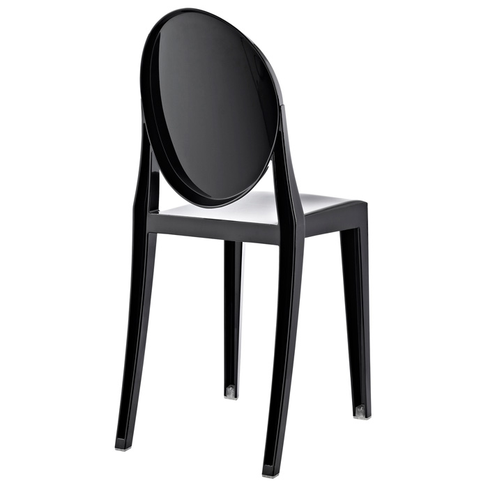 Casper Acrylic Stackable Ghost Side Chair Dcg Stores