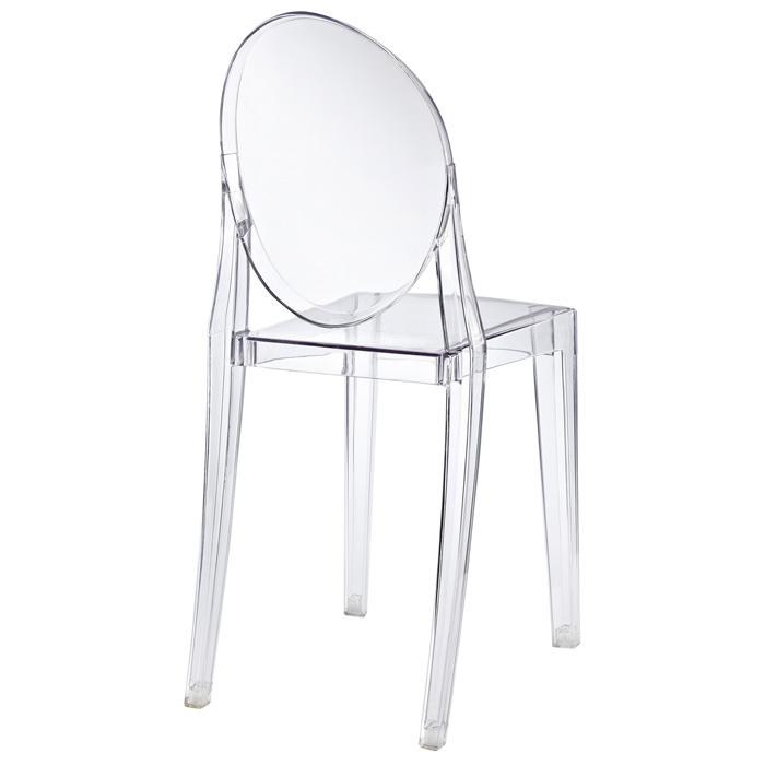 casper acrylic stackable ghost side chair dcg stores. Black Bedroom Furniture Sets. Home Design Ideas