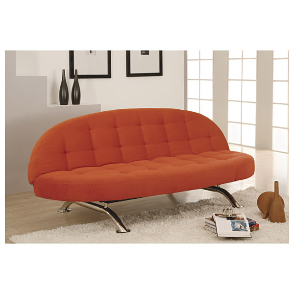 Capitola convertible chaise sofa in copper dcg stores for Capitola convertible chaise