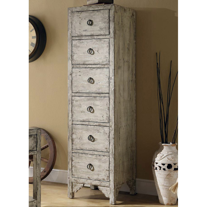 goddard 6 drawer storage tower distressed taupe dcg stores