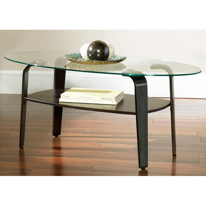Rio Oval Coffee Table & Round End Tables Set