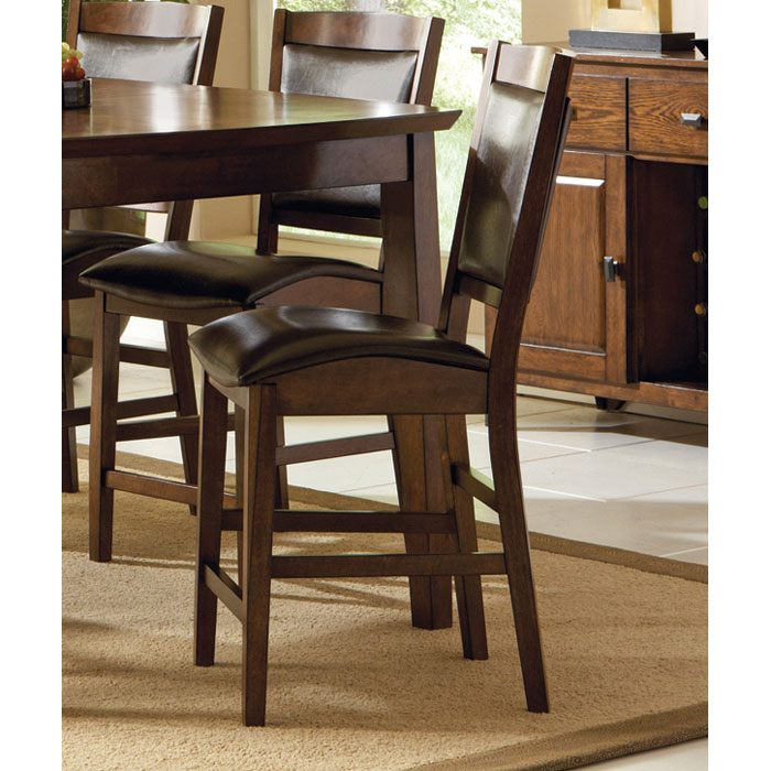 Vancouver 24 Dark Brown Counter Chair Dcg Stores
