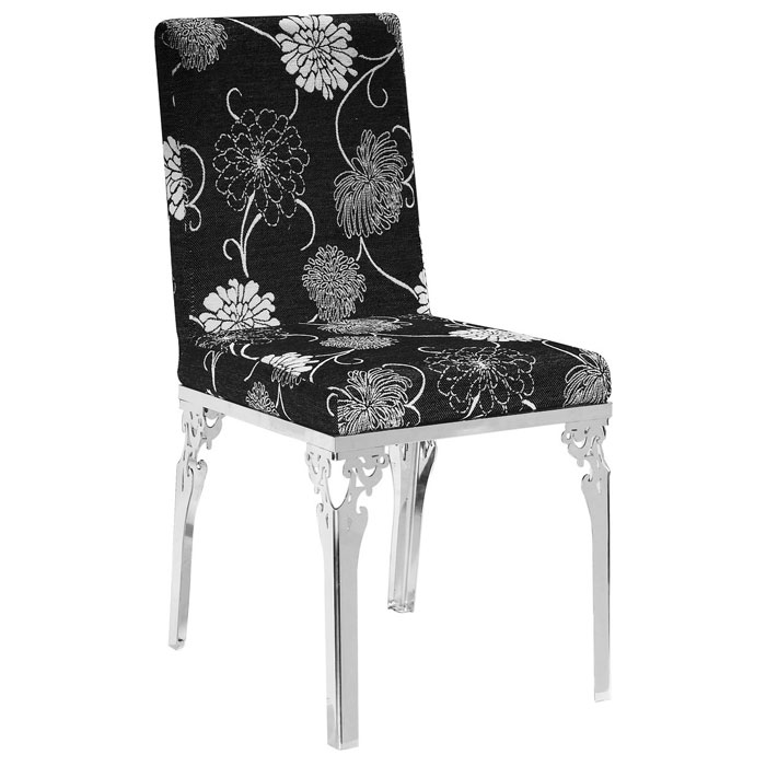Gymea Floral Dining Chair in Black DCG Stores : fy109 dc from dcgstores.com size 700 x 700 jpeg 59kB