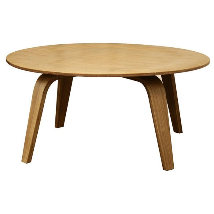 Harper Mid Century Molded Plywood Coffee Table Dcg Stores