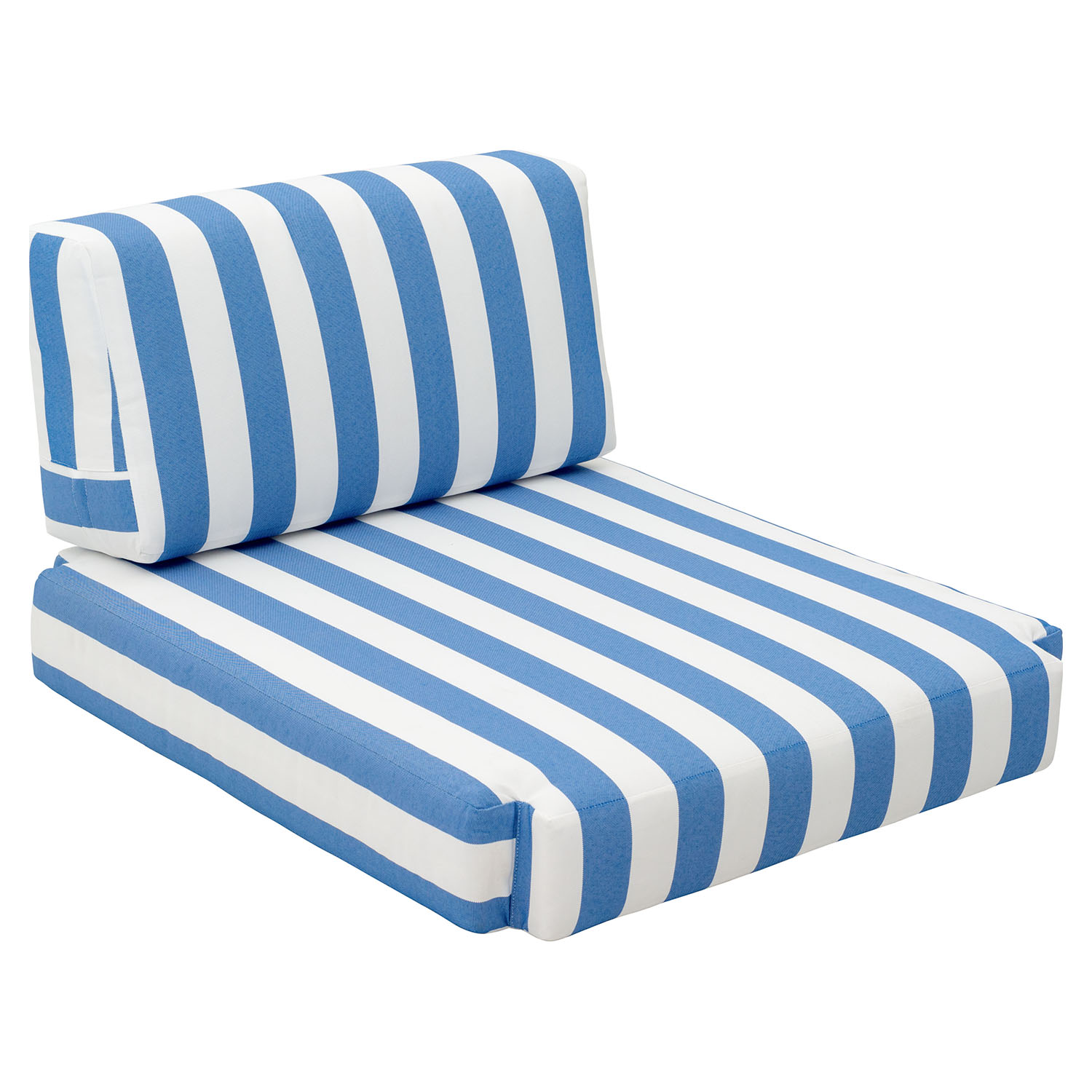 bilander arm chair cushion blue and white dcg stores